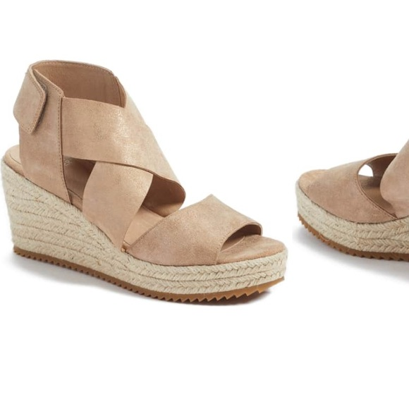 53dae68db Eileen Fisher Shoes | Willow Espadrille Wedge Sandal | Poshmark